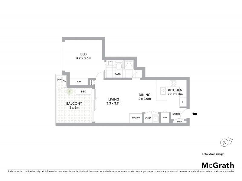 401/50 Lamington Avenue, Lutwyche QLD 4030 Floorplan