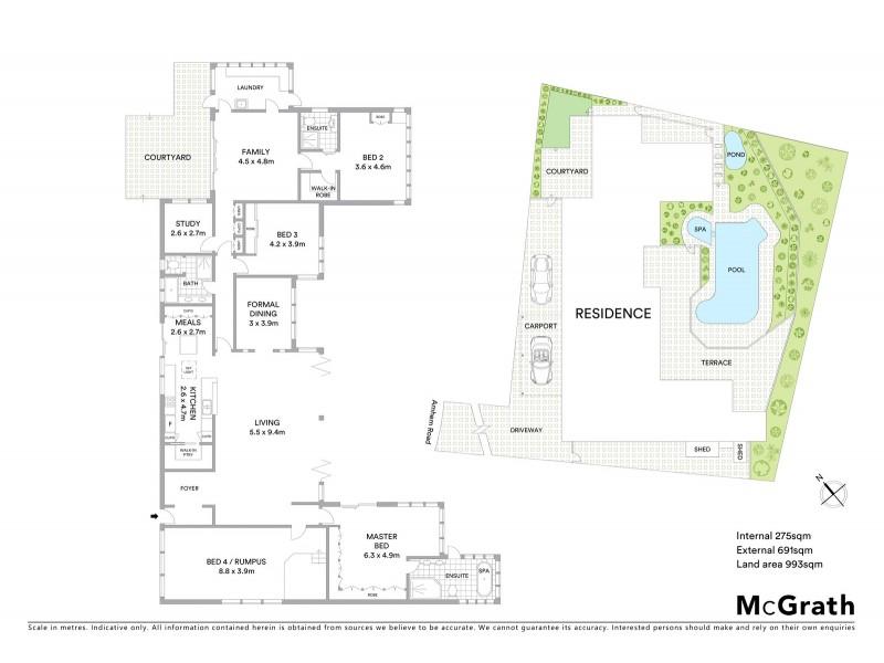 14A Arnhem Road, Allambie Heights NSW 2100 Floorplan