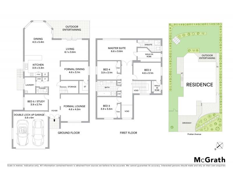9 Pratten Avenue, Ryde NSW 2112 Floorplan
