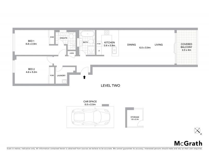 61/1 Monash Road, Gladesville NSW 2111 Floorplan
