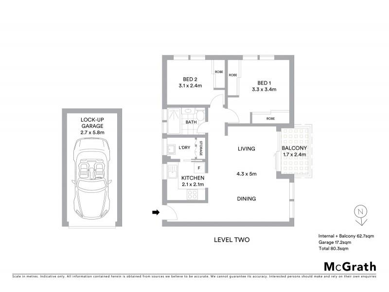 22/5 Stansell Street, Gladesville NSW 2111 Floorplan