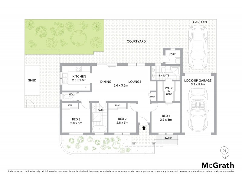 3/31 Highland Avenue, Bankstown NSW 2200 Floorplan