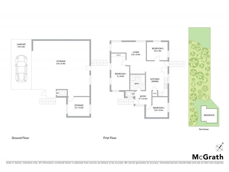 100 Park Street, Park Avenue QLD 4701 Floorplan