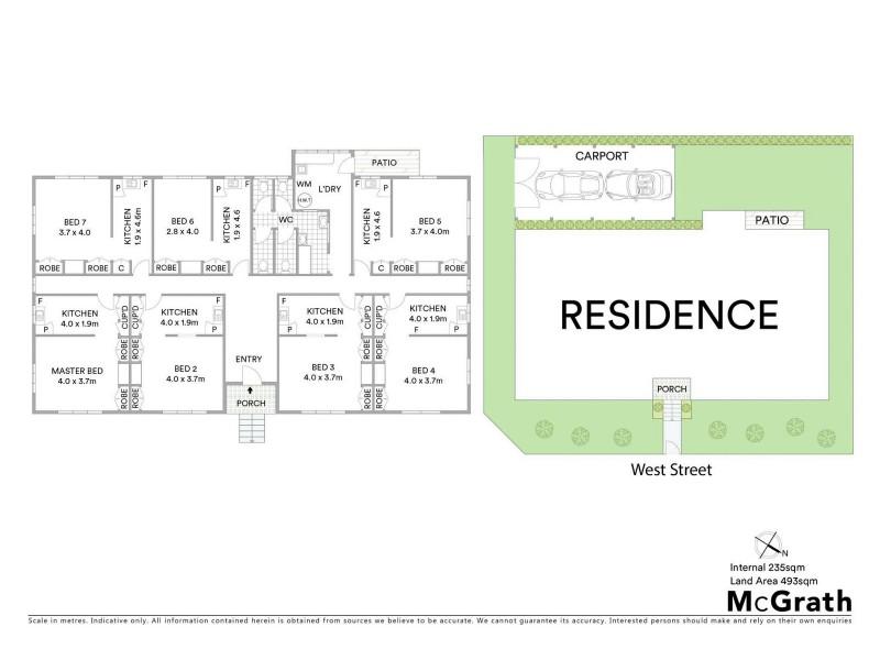 138 West Street, Allenstown QLD 4700 Floorplan