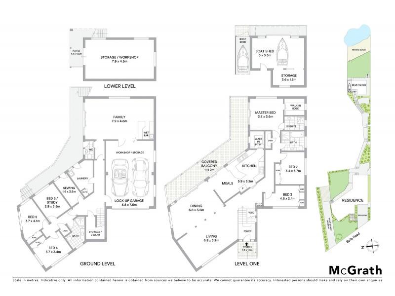 32 Bulls Road, Burraneer NSW 2230 Floorplan