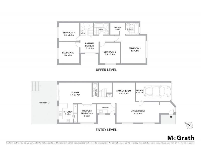 52A Queens Road, Hurstville NSW 2220 Floorplan