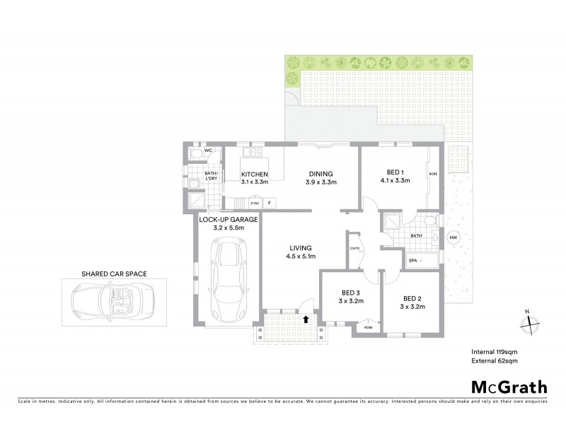1/22 Pacific Street, Long Jetty NSW 2261 Floorplan