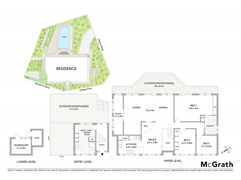60 Aldinga Drive, Wamberal NSW 2260 Floorplan