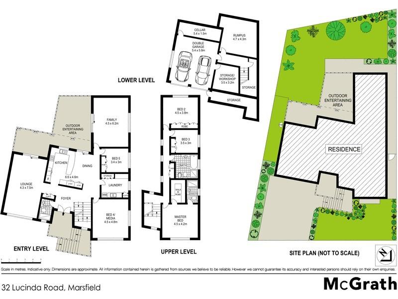 32 Lucinda Road, Marsfield NSW 2122 Floorplan