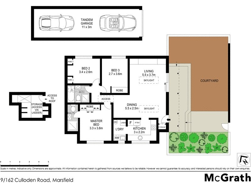 9/162 Culloden Road, Marsfield NSW 2122 Floorplan