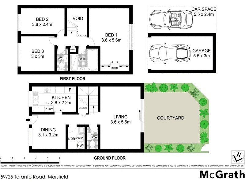 59/25 Taranto Road, Marsfield NSW 2122 Floorplan