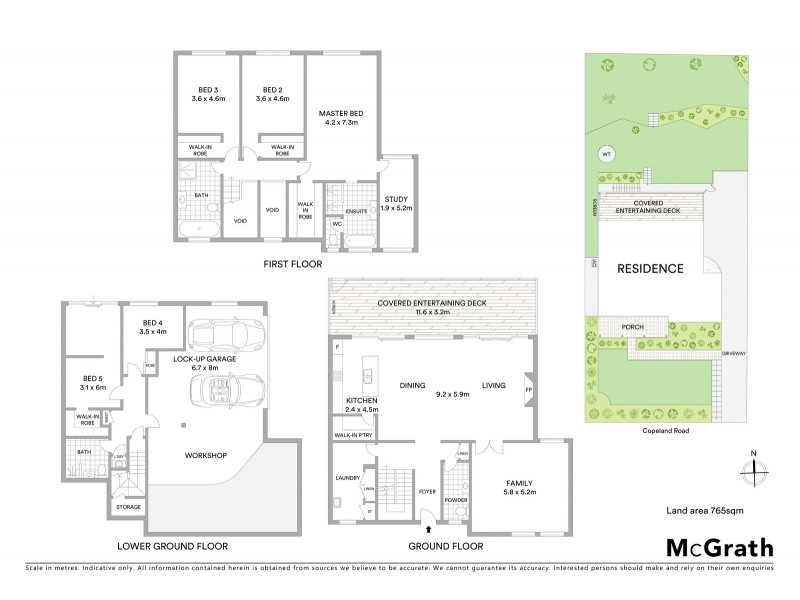 191 Copeland Road East, Beecroft NSW 2119 Floorplan