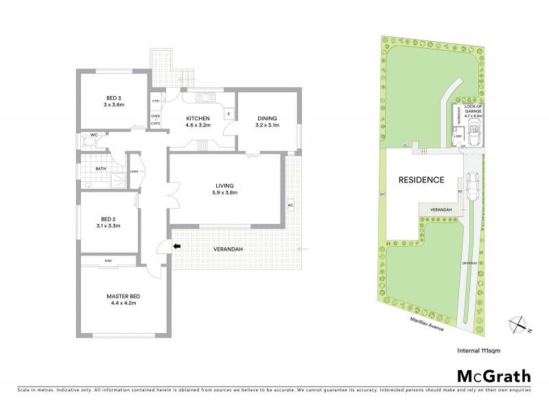 8 Marillian Avenue, Waitara NSW 2077 Floorplan