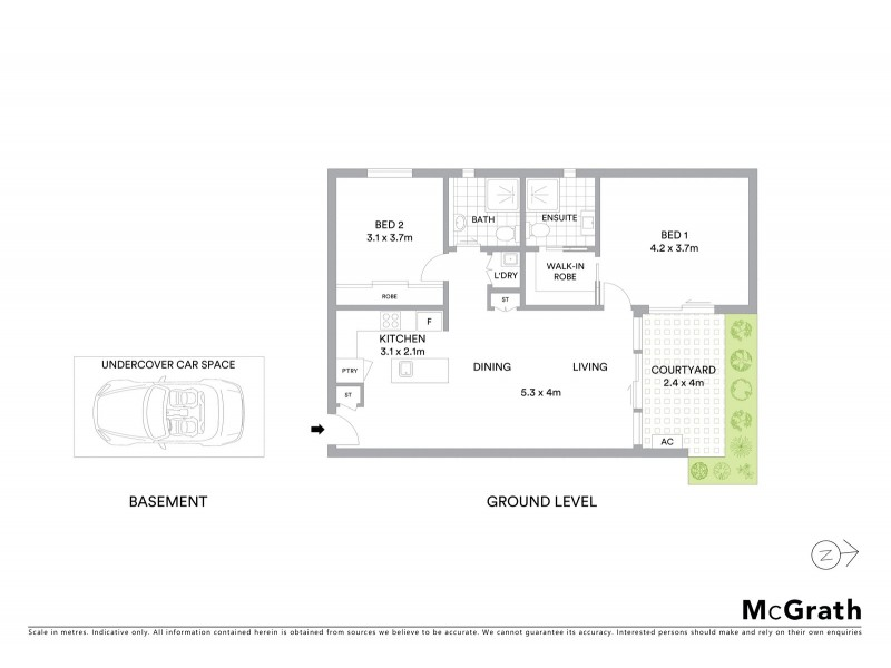 G07/60 Broadway, Elwood VIC 3184 Floorplan