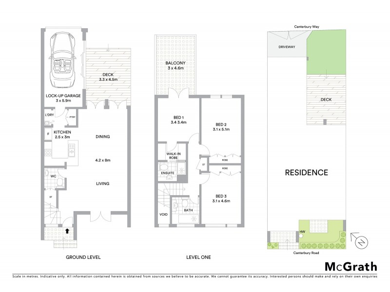 299 Canterbury Road, St Kilda West VIC 3182 Floorplan