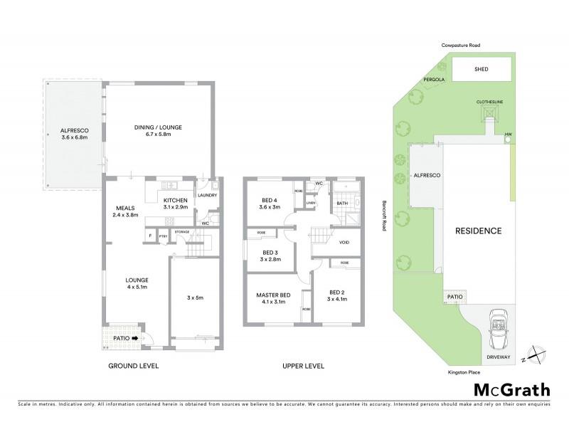 1A Kingston Place, Abbotsbury NSW 2176 Floorplan