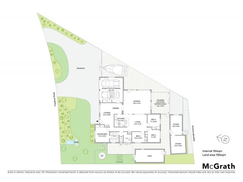 43 Gabriella Avenue, Cecil Hills NSW 2171 Floorplan