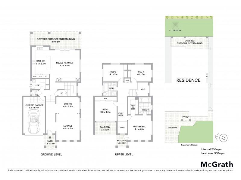 14B Paperbark Circuit, Casula NSW 2170 Floorplan