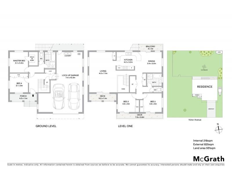 57 Victor Avenue, Paradise Point QLD 4216 Floorplan