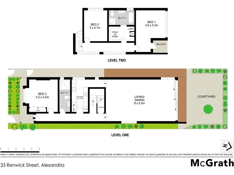 33 Renwick Street, Alexandria NSW 2015 Floorplan