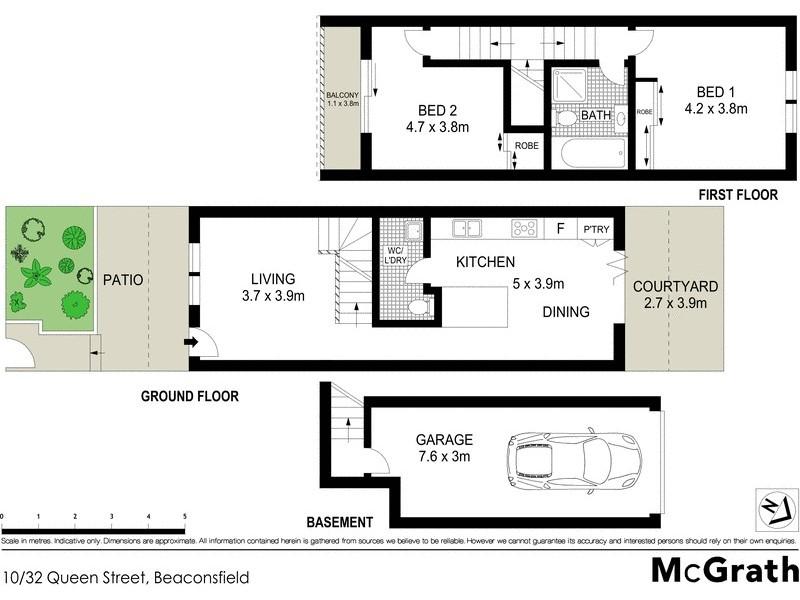 10/32 Queen Street, Beaconsfield NSW 2015 Floorplan