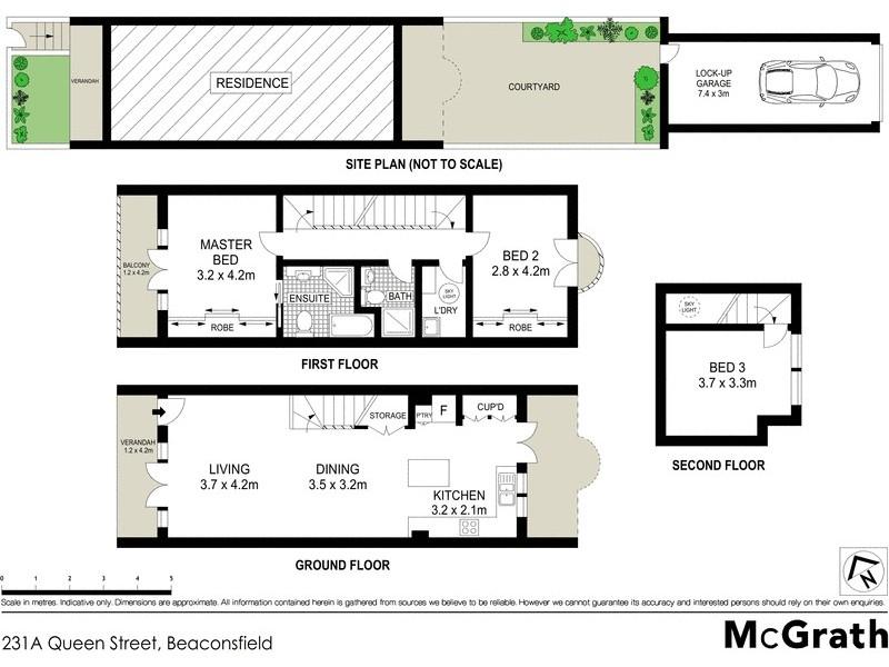 231A Queen Street, Beaconsfield NSW 2015 Floorplan