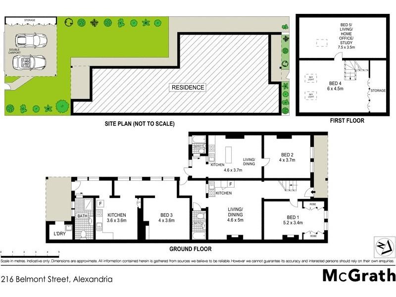 216 Belmont Street, Alexandria NSW 2015 Floorplan