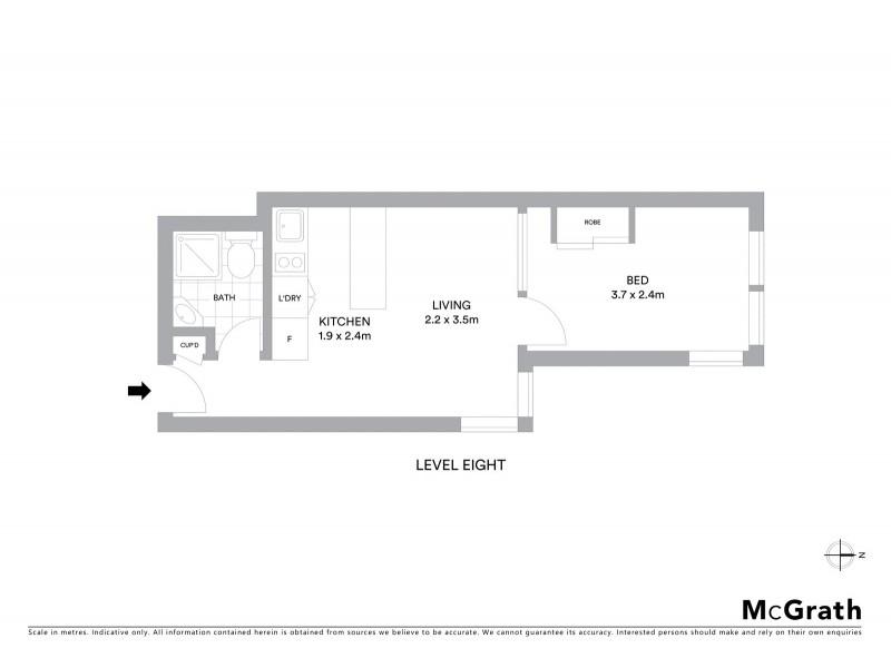 84/13 Waine Street, Surry Hills NSW 2010 Floorplan