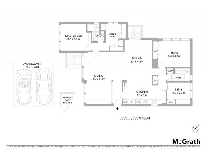 70/8 Fullerton Street, Woollahra NSW 2025 Floorplan