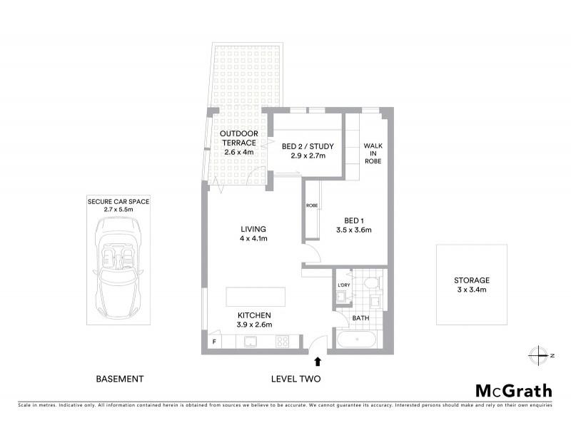 9/333 Crown Street, Surry Hills NSW 2010 Floorplan