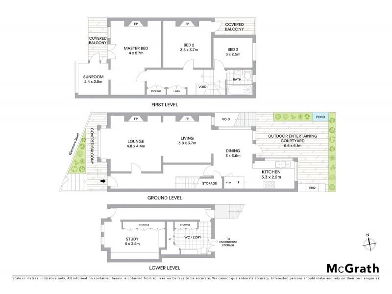 321 Glenmore Road, Paddington NSW 2021 Floorplan