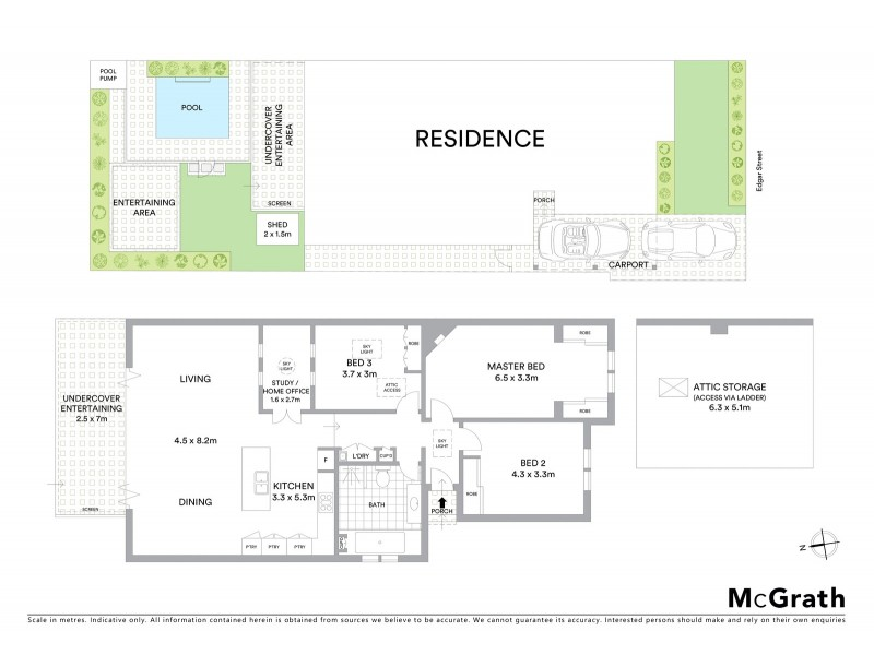 54 Edgar Street, Maroubra NSW 2035 Floorplan