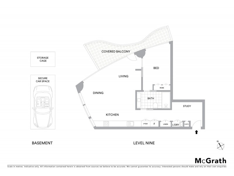 901/129 Harrington Street, Sydney NSW 2000 Floorplan