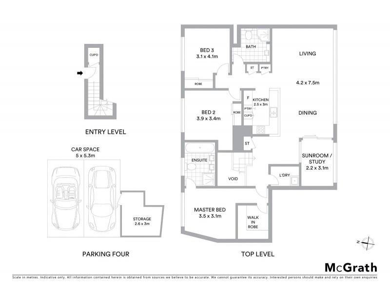 201/107 Quay Street, Sydney NSW 2000 Floorplan