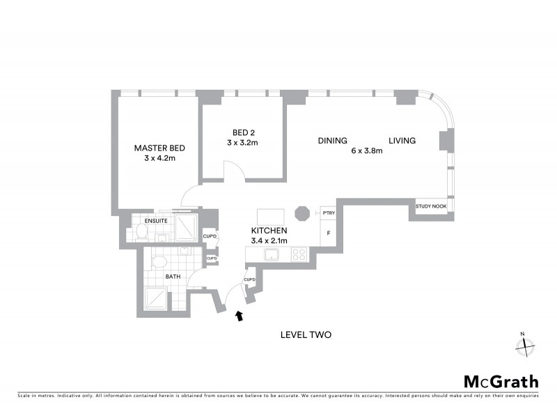 4/44 Bridge Street, Sydney NSW 2000 Floorplan