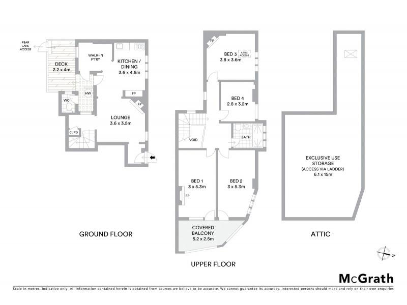 21A Kent Street, Sydney NSW 2000 Floorplan