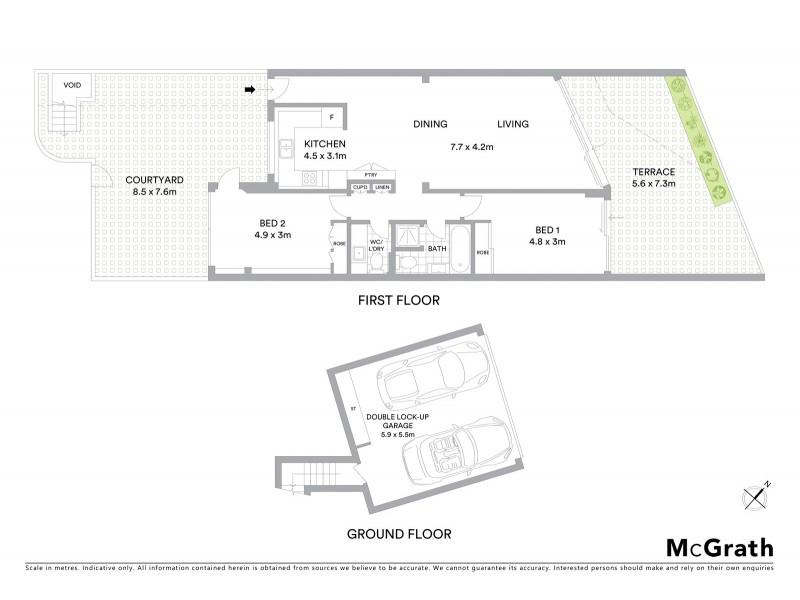 11/2 Notts Avenue, Bondi Beach NSW 2026 Floorplan