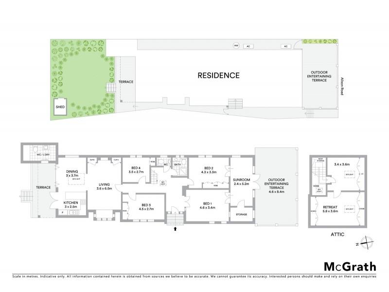 342 Alison Road, Coogee NSW 2034 Floorplan