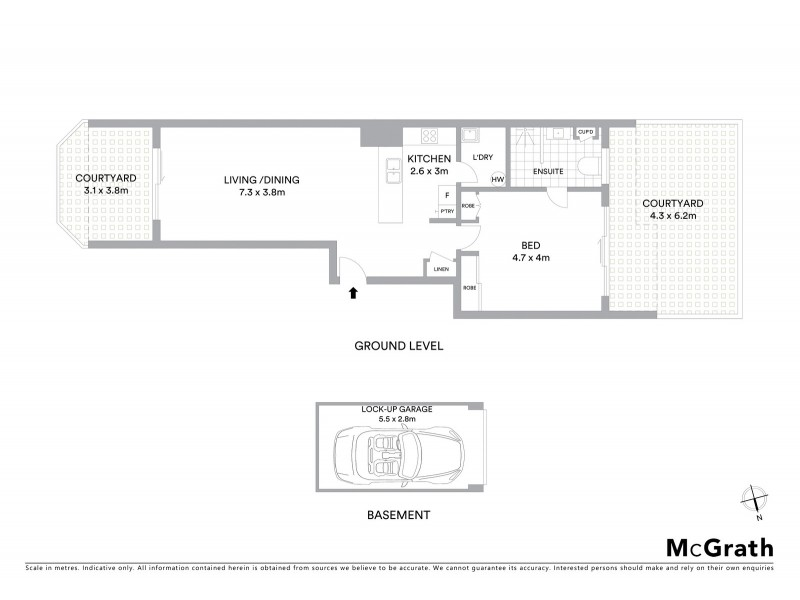 34/30 Nobbs Street, Surry Hills NSW 2010 Floorplan