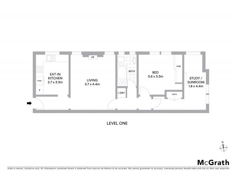 5/9 Bennett Street, Bondi NSW 2026 Floorplan