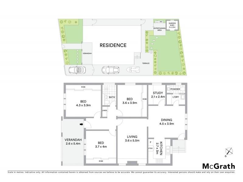 5 Virginia Street, Kensington NSW 2033 Floorplan