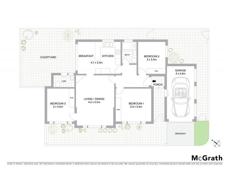 81 Garrett Street, Maroubra NSW 2035 Floorplan