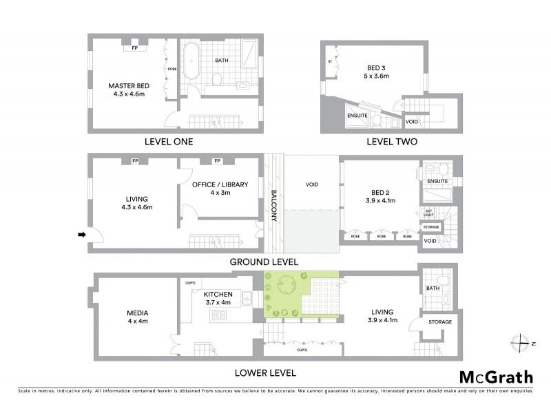 82 Windmill Street, Millers Point NSW 2000 Floorplan