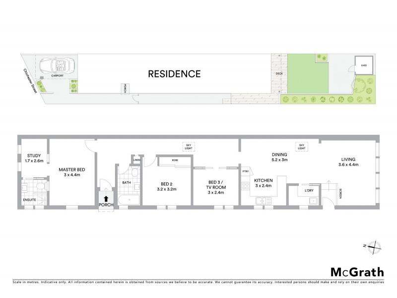 7 Chichester Street, Maroubra NSW 2035 Floorplan