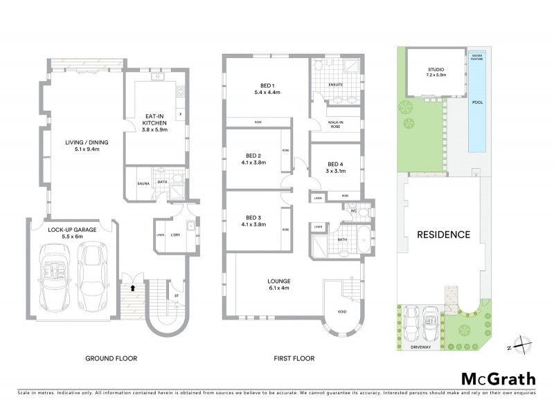 99 Garden Street, Maroubra NSW 2035 Floorplan