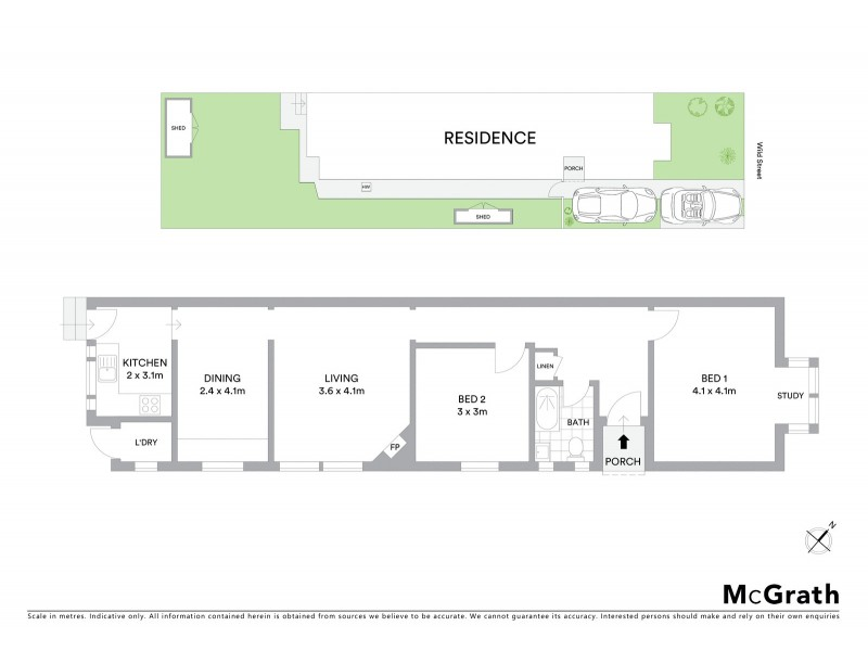 39 Wild Street, Maroubra NSW 2035 Floorplan