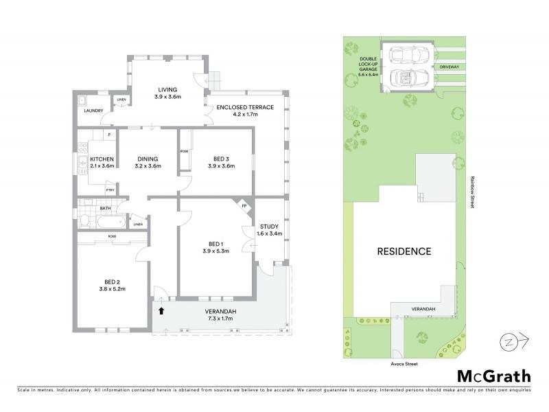 348 Avoca Street, Kingsford NSW 2032 Floorplan