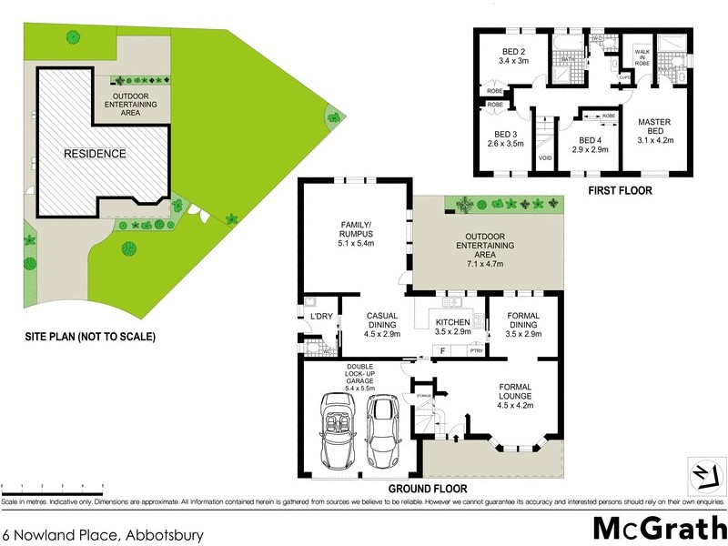 6 Nowland Place, Abbotsbury NSW 2176 Floorplan