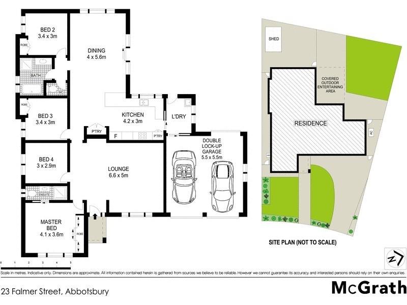23 Falmer Street, Abbotsbury NSW 2176 Floorplan