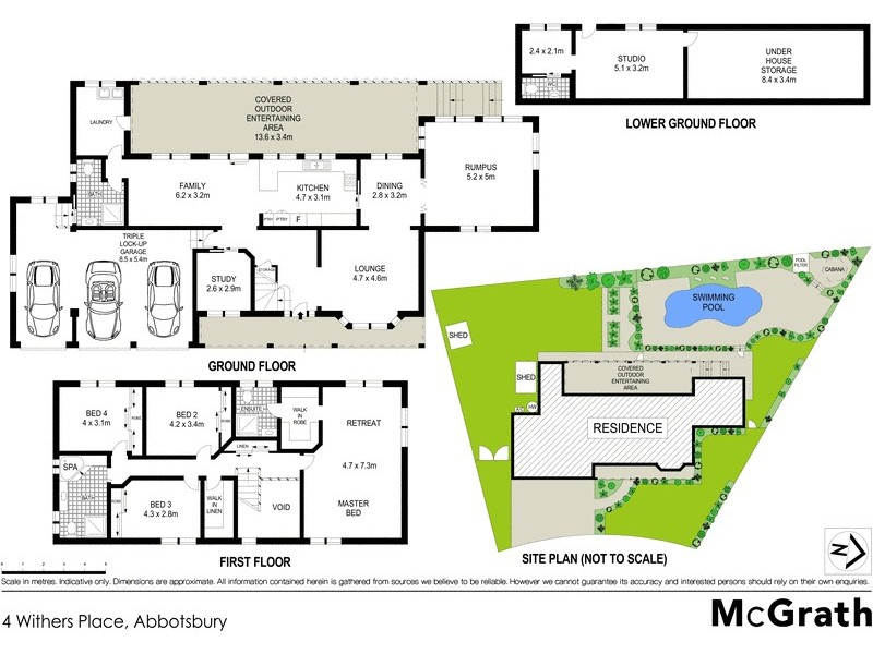 4 Withers Place, Abbotsbury NSW 2176 Floorplan